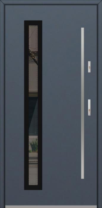 Fargo GD01C - puertas de entrada de aluminio