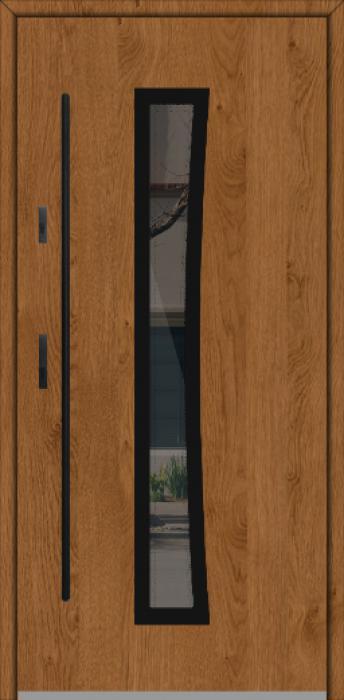 Fargo GD02A - puerta aluminio exterior
