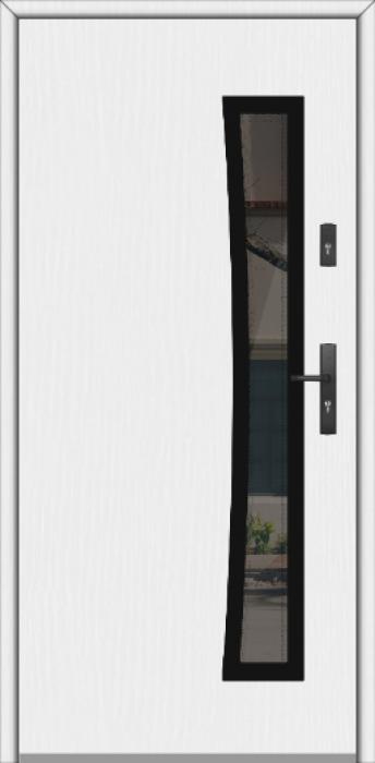 Fargo GD02B - puertas de entrada de madera