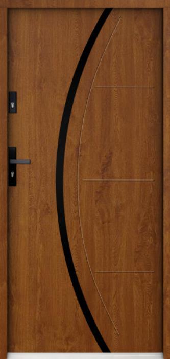 Sta Phoenix noir - puertas de entrada de hierro