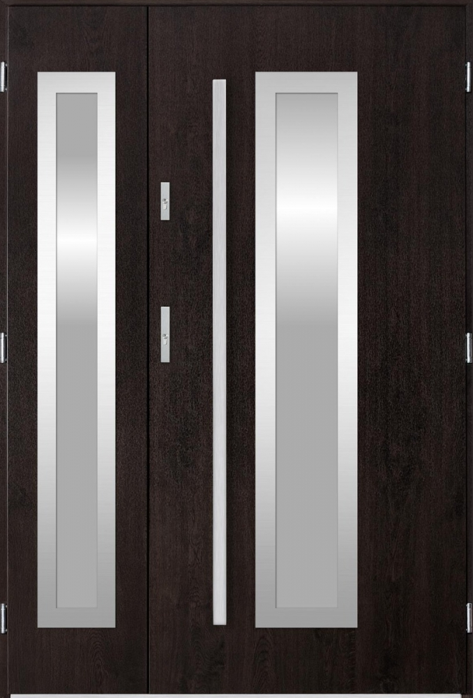 Sta Hevelius Duo - puertas de entrada de hierro