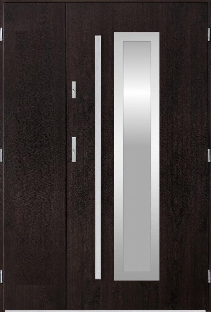 Sta Hevelius Uno - puertas de entrada de hierro