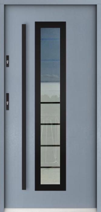 Sta Hevelius noir - puertas de entrada con cristal