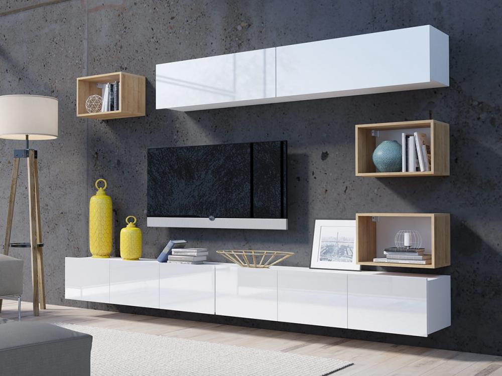 Cela 31 - unidad de pared de tv moderna