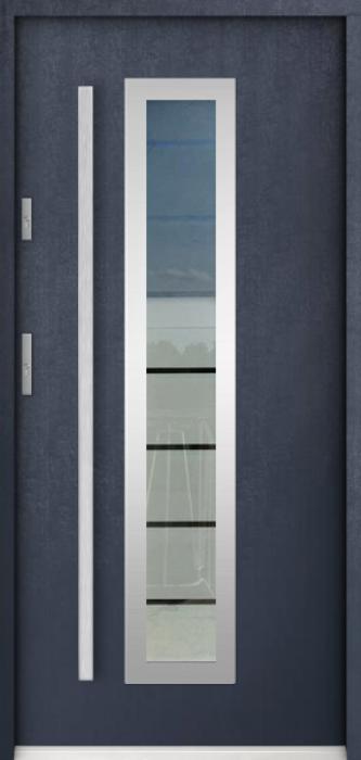 Sta Hevelius - puertas de entrada con cristal