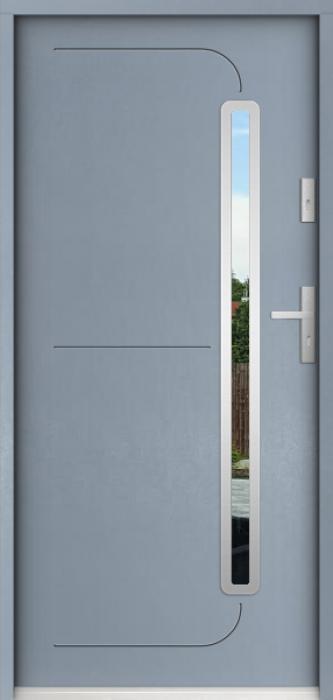 Sta Hadar - puerta metalica exterior