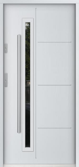 Sta Arago - puertas de entrada de hierro