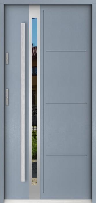 Sta Galileo - puerta metalica exterior