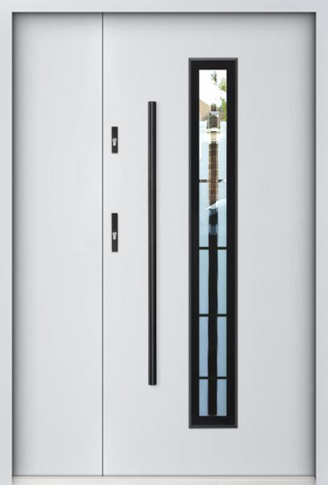Sta Kepler 3D Uno - puerta metalica exterior