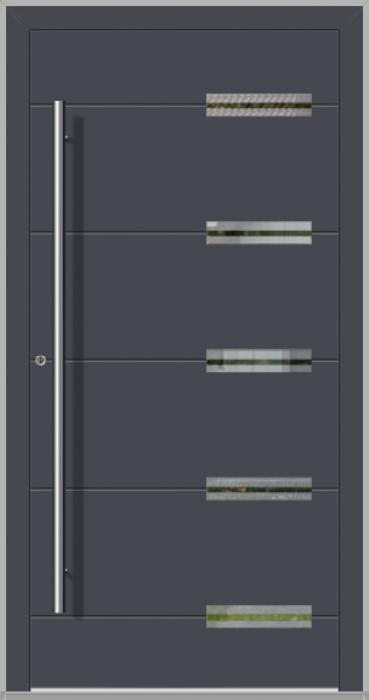 LIM Abakus - puertas de entrada de aluminio para viviendas