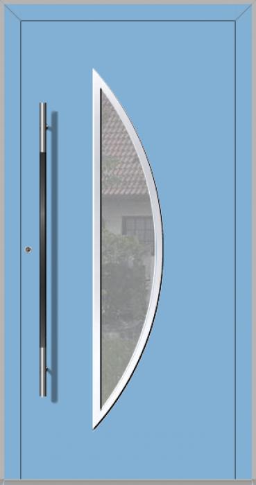 LIM Bow - puerta principal de vidrio de aluminio