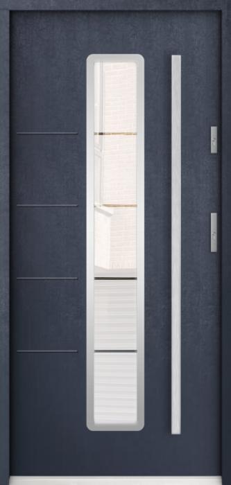 Sta Antares - puertas de entrada con cristal