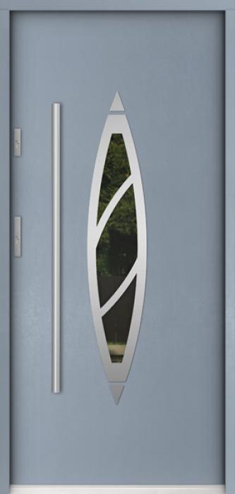 Sta Aries - puertas de entrada de hierro