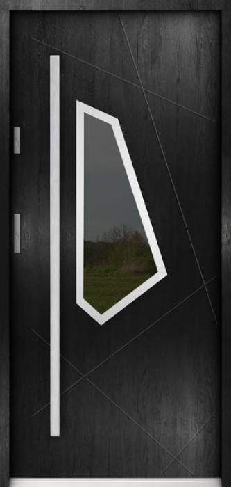 Sta Diaz - puertas de entrada con cristal