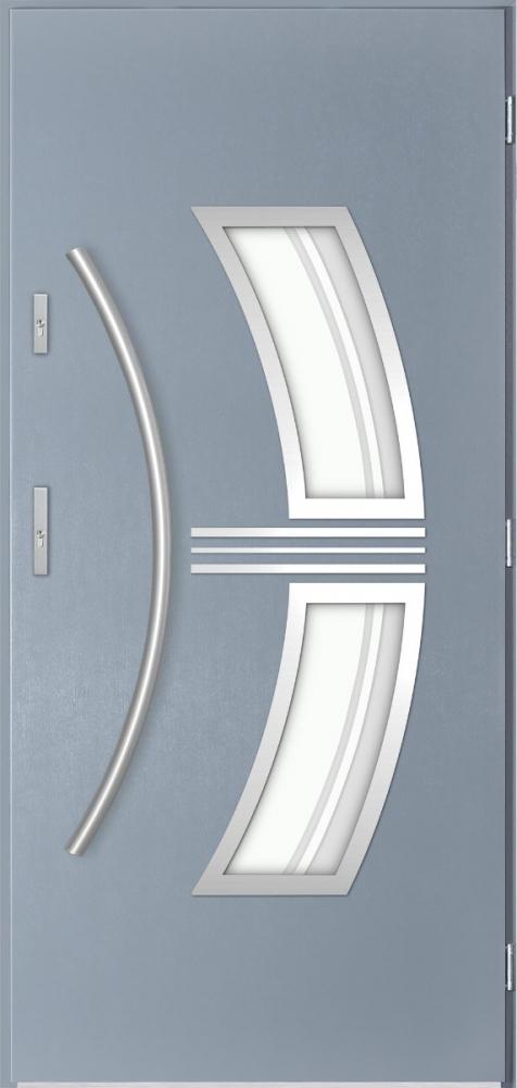 Sta Sirius - puerta metalica exterior