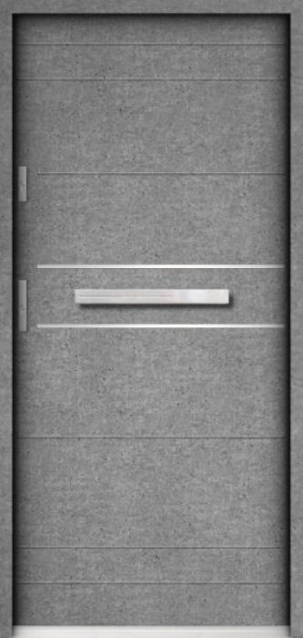 Sta Tesla - puerta aluminio exterior