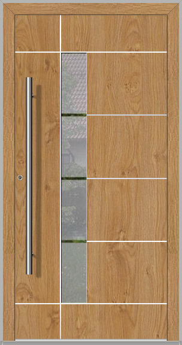LIM Bandera - contemporary aluminium front door