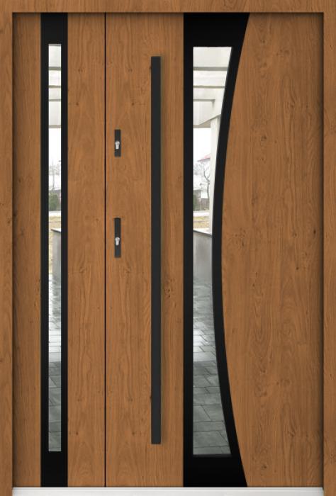 Sta Gemini Duo Noir - puertas entrada exterior