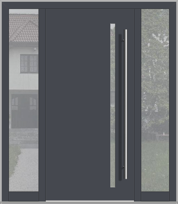 Puerta LIM con luz lateral izquierda y derecha (vista desde el exterior)