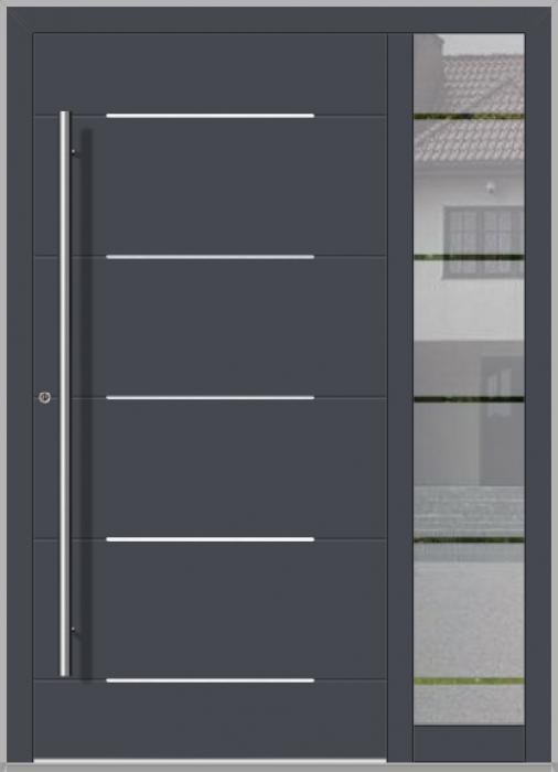 Puerta LIM con luz lateral derecha (vista desde el exterior)