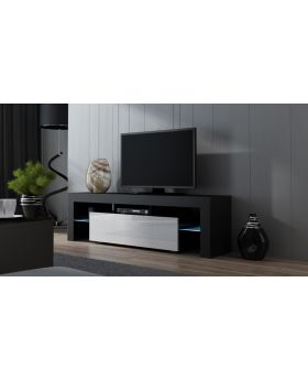 Milano 160 width modern TV stand with led - mesa de tv
